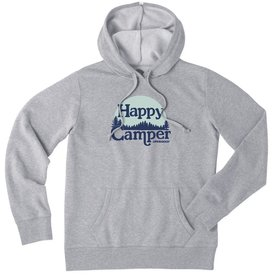 Life is Good Womens Simply True Hoodie, Happy Camper