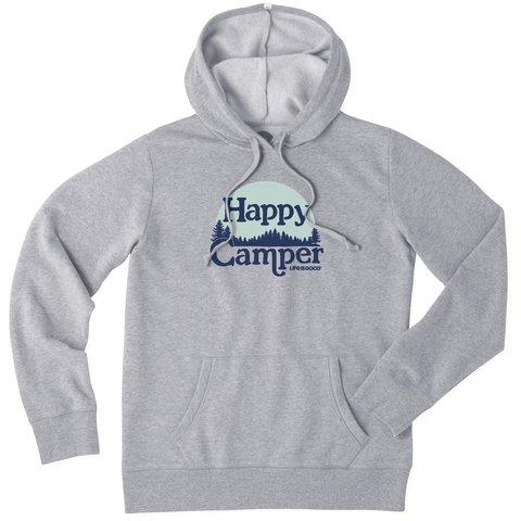 Womens Simply True Hoodie, Happy Camper