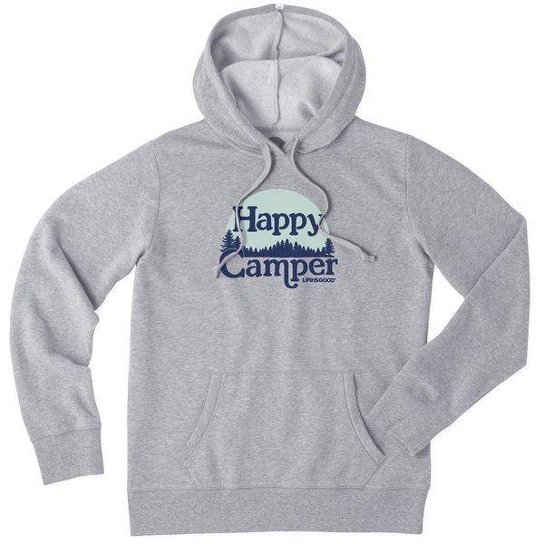 Life is Good Womens Simply True Hoodie, Happy Camper