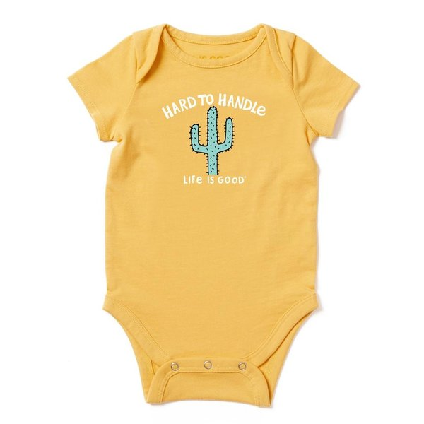 Baby One Piece Hard to Handle Cactus