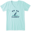 Women's Crusher Vee We Be Clubbin Golf
