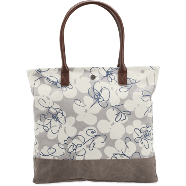 Life is Good All in One Tote, Flowers Wander Free