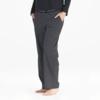 Womens Cropped Sleep Pant, Stripes