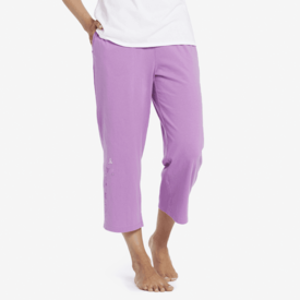 Life is Good Womens Cropped Sleep Pant, Dream Doves