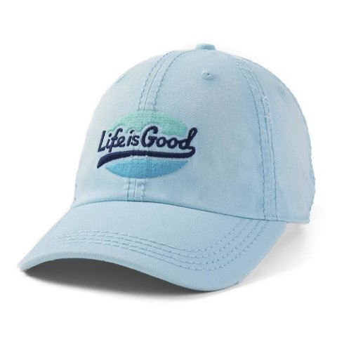 Sunwashed Chill Cap, Life is Good, Beach Blue