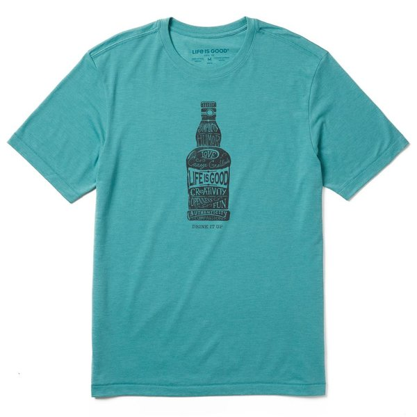 Men's Cool Tee, Drink It Up Superpowers