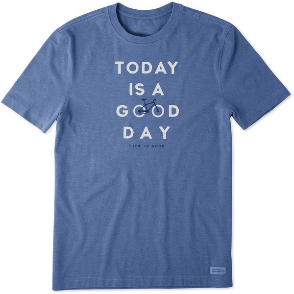 Men's Crusher Tee, Today is a Good Day Bike