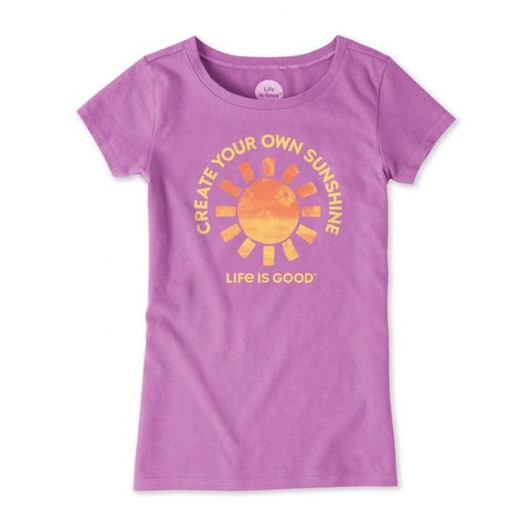 Girls Crusher Tee, Create Your Own Sunshine