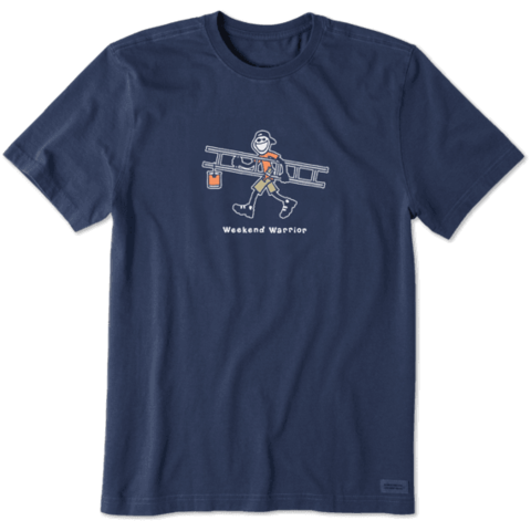 Men's Crusher Tee, Weekend Warrior