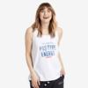 Womens Breezy Tank Positive Energy