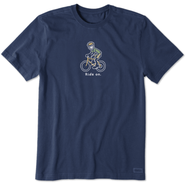 Men's Crusher Tee, Jake Bike