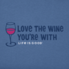 Womens Crusher Tee Love the Wine You're With