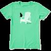 Womens Crusher Tee Cat Adirondack Chair Muskoka