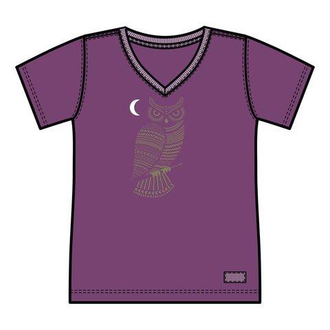 Womens Crusher Vee, Primal Owl