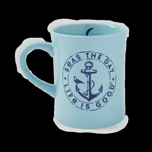 Diner Mug, Seas the Day