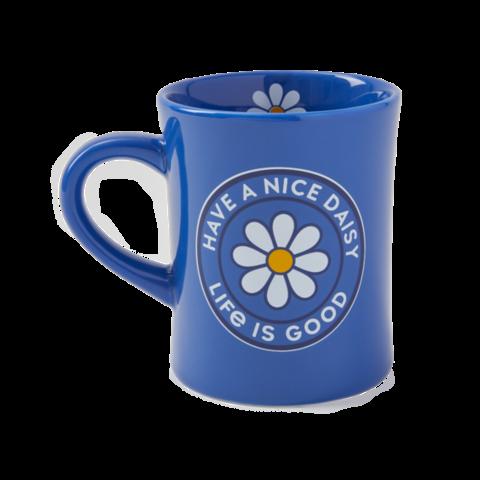 Diner Mug, Have a Nice Daisy