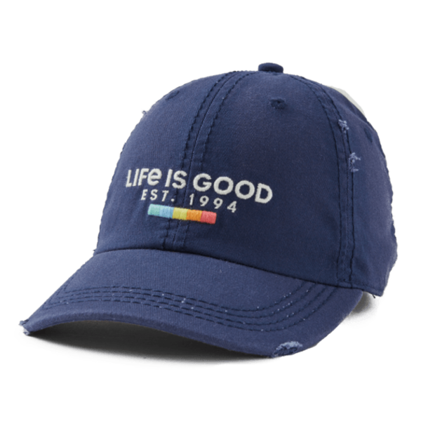 Sunwashed Chill Cap Life is Good Rainbow