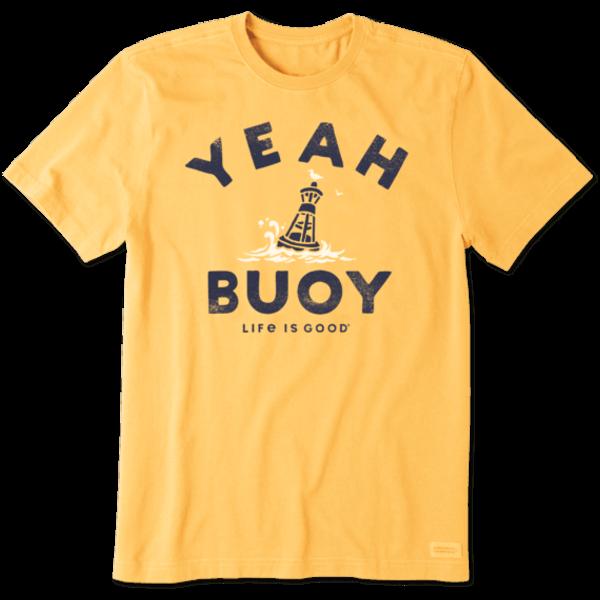 Men's Crusher Tee, Yeah Buoy