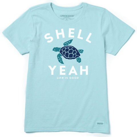 Womens Crusher Tee, Shell Yeah