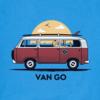 Men's Crusher Tee, Van Go VW Bus