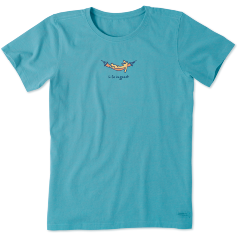 Womens Crusher Tee, Rocket Hammock