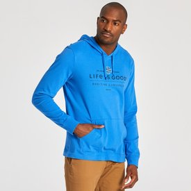 Men's Hooded L/S Crusher, Compass