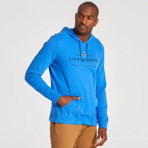 Men's Hooded L/S Crusher Compass
