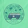 Womens Crusher L/S Tee Love Bus