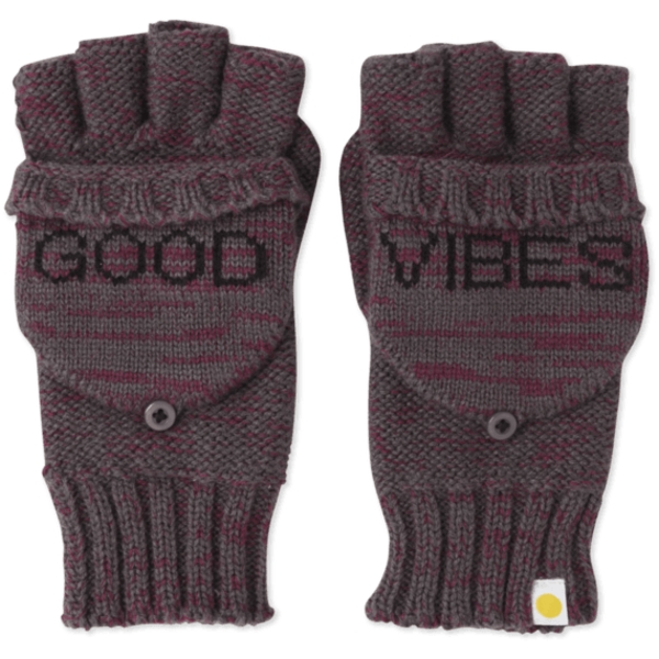 Womens Cable Knit Fingerless Gloves