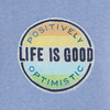Womens Go-To Crew, Positively Optimistic