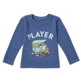 Toddler Crusher L/S Tee, Player