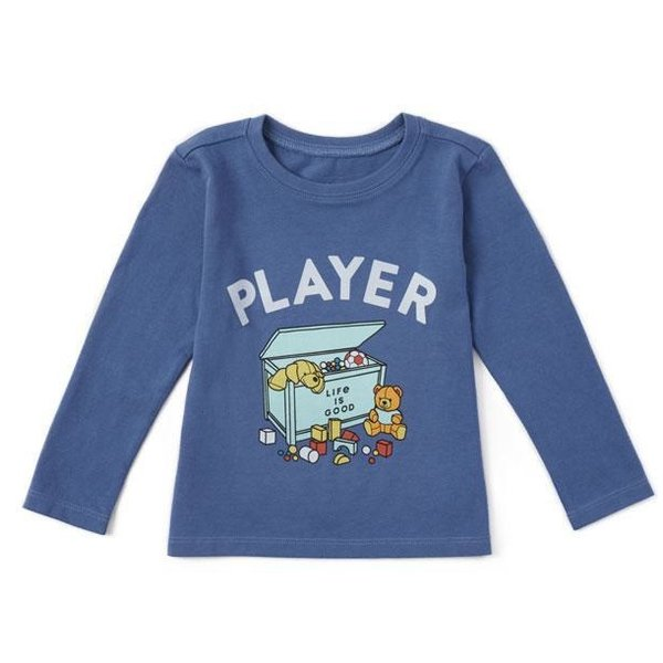 Toddler Crusher L/S Tee Player