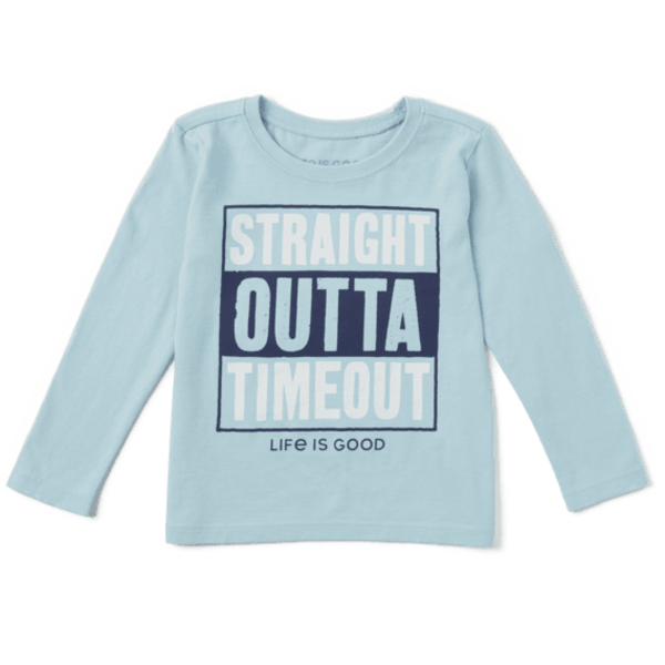 Toddler Crusher L/S Tee Straight Outta Timeout