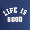 Men's Simply True Crew, Life is Good