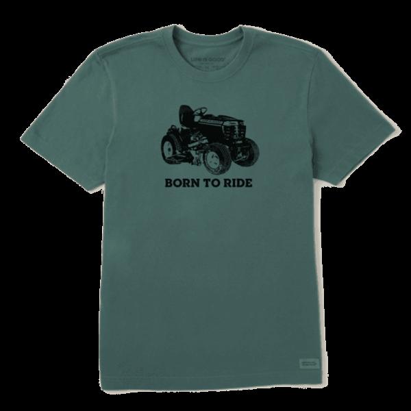 Men's Crusher Tee, Born to Ride Tractor