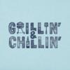 Men's Crusher L/S Tee, Grillin' & Chillin'