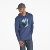 Men's Hooded L/S Crusher Bison