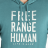 Men's Hooded L/S Crusher Free Range Human