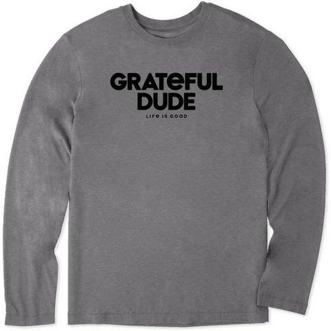 Men's L/S Cool Tee, Grateful Dude