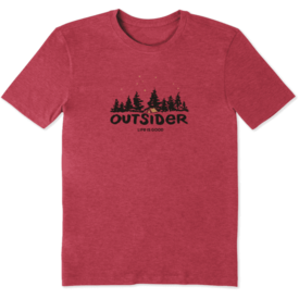 Men's Cool Tee, Outsider Camp
