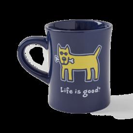 Diner Mug, Rocket, Darkest Blue