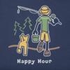 Men's Crusher Tee, Vintage Happy Hour