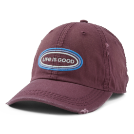 Sunwashed Chill Cap, Life is Good, Mahogany Brown