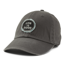 Tattered Chill Cap, Life is Good Slate Grey