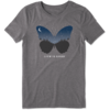 Womens Cool Tee Celestial Butterfly