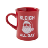 Diner Mug, Sleigh All Day Santa