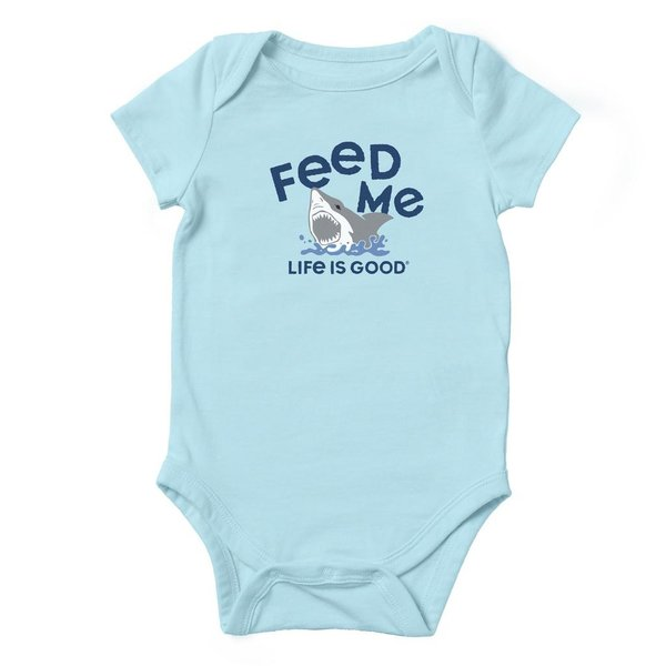 Baby One Piece Feed Me Shark