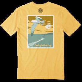 Men's Crusher Tee, Let's Go Fishing