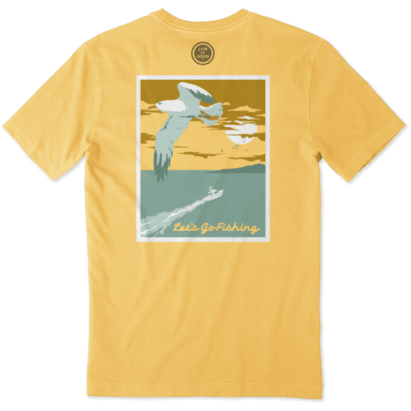 Men's Crusher Tee, Let's Go Fishing