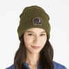 Toasty Groove Beanie, Moon Mountains, Fatigue Green